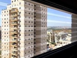 סורגים שקופים לדירה