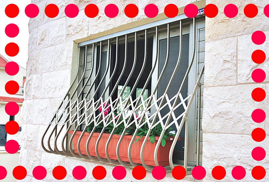 סורג לחלון ממד