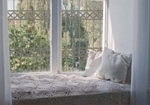 סורג מעוצב לחלון מדגם x