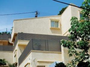 גדר אלומיניום למרפסות