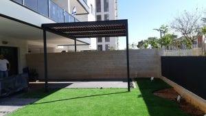 הצללה לגינה או למרפסת