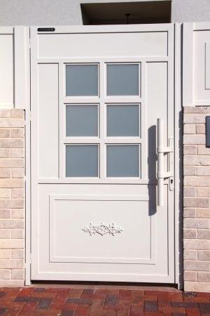 דלת שער פישפש לבית פרטי