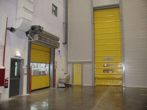 דלתות מתרוממות נגללות לתעשייה