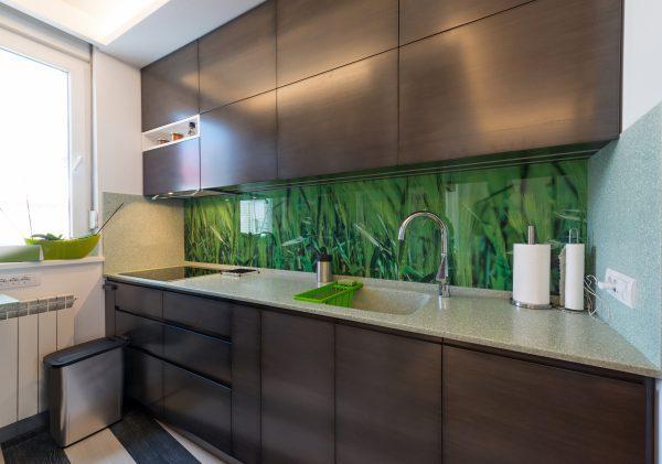 תמונות של זכוכית למטבח
